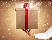Magic gift — Stock Photo