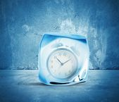 Concept of freeze time — Stock Photo