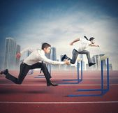 Business competition — Stock Photo