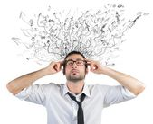 Stress and confusion — Stock Photo