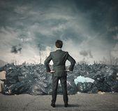 Pollution problem — Stock Photo