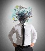 Confusion of ideas — Stock Photo