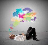 Think creative — Stock Photo