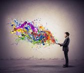 Kreativní technologie — Stock fotografie