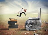 Technology migration — Stock Photo
