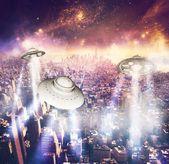 Alien invasion — Stock Photo