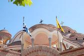 Le monastère de l'archange michel avec une partie du saint clou de — Photo