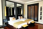 Appartamento lusso hotel, dubai, emirati arabi uniti — Foto Stock