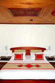Interiér bytu v luxusní vila, bentota, srí lanka — Stock fotografie