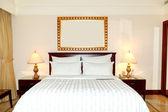 Wohnung in der luxus-hotel, dubai, vereinigte arabische emirate — Stockfoto