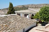 Il territorio del monastero dell'arcangelo michele, con una parte di h — Foto Stock