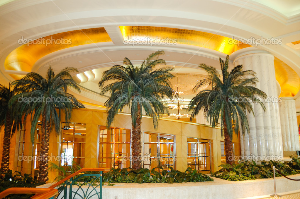 reception lobby area in luxury hotel stock photo slava296
