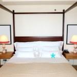 Apartment interior in the luxury hotel, Tenerife, island, Spain — Stock Photo #14201657