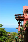 Building of the oriental style luxury hotel, Tenerife island, Sp — Stock Photo