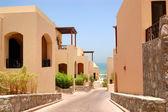 The Arabic style villas at luxury hotel, Dubai, UAE — Stock Photo