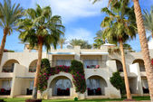 The holiday villas at luxury hotel, Sharm el Sheikh, Egypt — Stock Photo