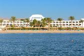 Playa en el lujoso hotel, sharm el Sheik, Egipto — Foto de Stock