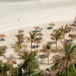 Stock Photo: Beach of luxury hotel, Ajman, UAE