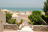 Holliday villas at the luxury hotel, Ras Al Khaimah, UAE — Stock Photo