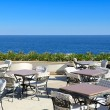 The sea view outdoor terrace at luxury hotel, Sharm el Sheikh, E — Stock Photo #18163003