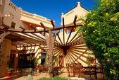 открытый ресторан на роскошный отель, шарм-эль-шейх, египет — Стоковое фото