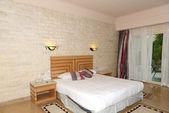 Apartment interior in the luxury hotel, Hurghada, Egypt — Stock Photo