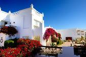 Villa decoration at the luxury hotel, Sharm el Sheikh, Egypt — Stock Photo