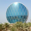 The luxury hotel and circular building, Abu Dhabi, UAE — Stock Photo #19177627