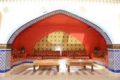 Lounge decoration at the luxury hotel, Sharm el Sheikh, Egypt — Stock Photo