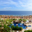 Royalty-Free Stock Photo: Panorama of the beach at luxury hotel, Sharm el Sheikh, Egypt