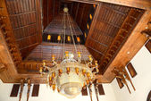 Lyster i lobbyn av lyxhotell, sharm el sheikh, egypten — Stockfoto