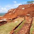 The view from Sigiriya (Lion's rock) is an ancient rock fortress — Stock Photo #24473425