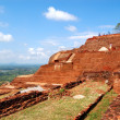 The view from Sigiriya (Lion's rock) is an ancient rock fortress — Stock Photo #24553853