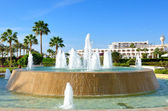 The fountain at the luxury hotel, Sharm el Sheikh, Egypt — Stock Photo