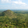 The view from Sigiriya (Lion's rock) is an ancient rock fortress — Stock Photo #30533135