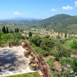 The view on ruins in ancient Messene (Messinia), Peloponnes, Gre — Stock Photo