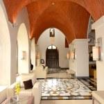 Lobby interior of the luxury hotel, Ras Al Khaimah, UAE — Stock Photo #32316379