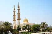 Muslim mosque, Shardjah, United Arab Emirates — Stock Photo