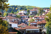 The houses in Metsovo Greek village, Greece — Stock Photo