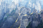 View on the Meteora mountains, Greece — Stockfoto