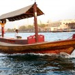 DUBAI, UAE - SEPTEMBER 10: The traditional Abra boat in Dubai Cr — Stock Photo