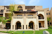 The arabic style villas in luxury hotel, Fujairah, UAE — Foto de Stock