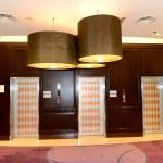 Lobby interior of the luxury hotel, Dubai, UAE — Stock Photo