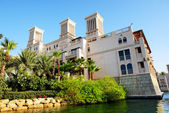 View of the Souk Madinat Jumeirah, Dubai, UAE — Stock Photo