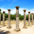 Theokoleon ruins in ancient Olympia, Peloponnes, Greece — Stock Photo #37825363