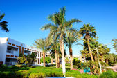 Building and recreation area of the luxury hotel, Sharm el Sheik — Stock Photo