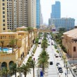 DUBAI, UAE - SEPTEMBER 12: The Walk at Jumeirah Beach Residence — 图库照片