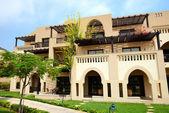 The arabic style villas in luxury hotel, Fujairah, UAE — Stock Photo