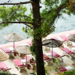Stock Photo: Beach at luxury hotel, Marmaris, Turkey