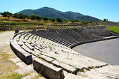 The stadium in ancient Messene (Messinia), Peloponnes, Greece — Stock Photo